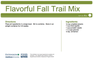 Flavorful Fall Trail Mix