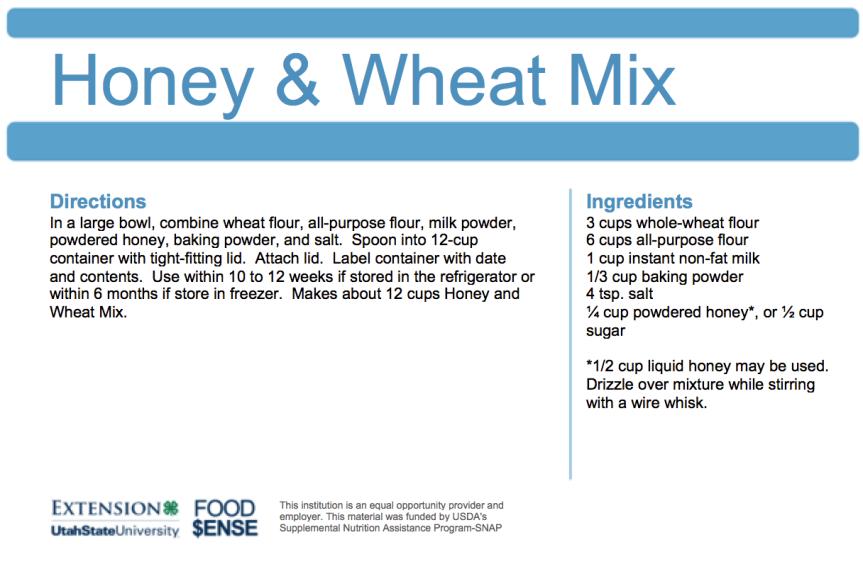 Honey & Wheat Mix