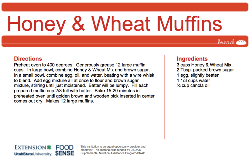 Honey & Wheat Muffins