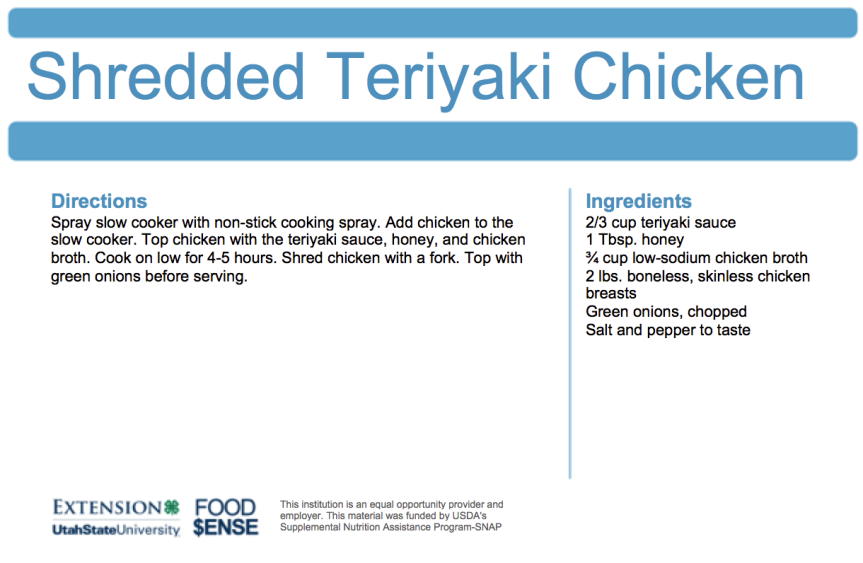 shredded-teriyaki-chicken